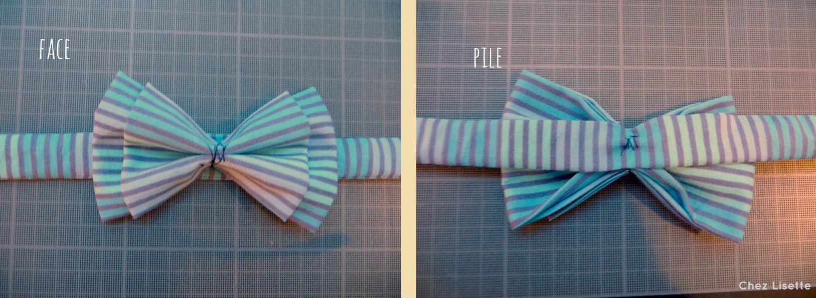 Turbo DIY nœud papillon - Transformation ! - Chez Lisette NA26