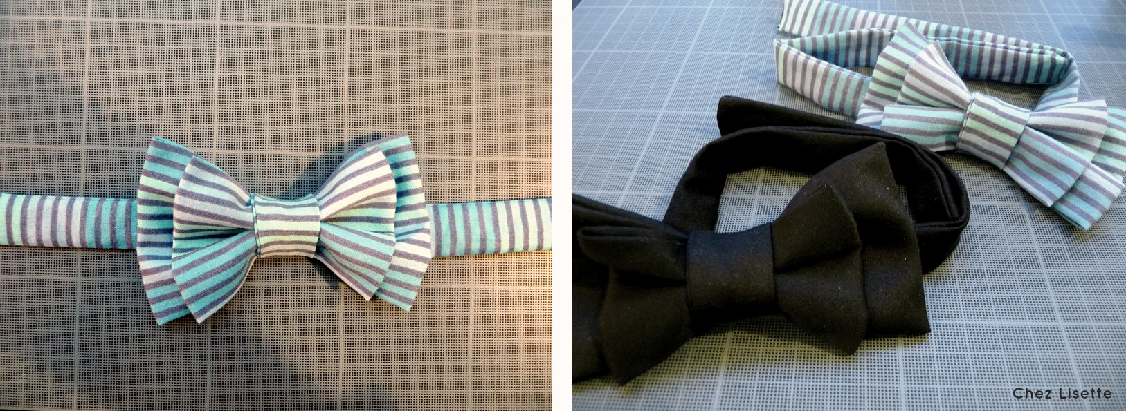 diy n ud papillon transformation chez lisette. Black Bedroom Furniture Sets. Home Design Ideas