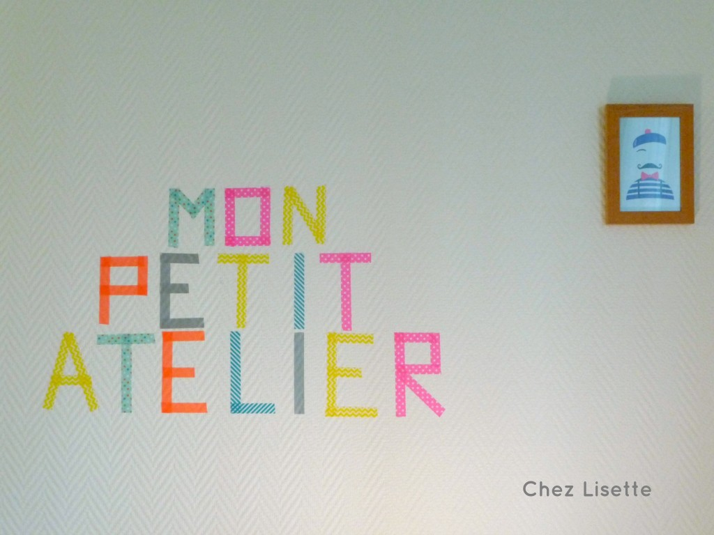 Déco washi tape - Chez Lisette