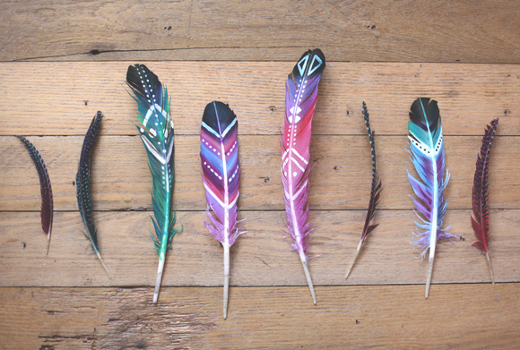 diy-painted-feathers-l