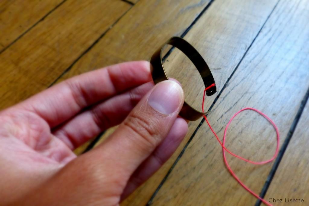 Chez Lisette - Bracelet tissé