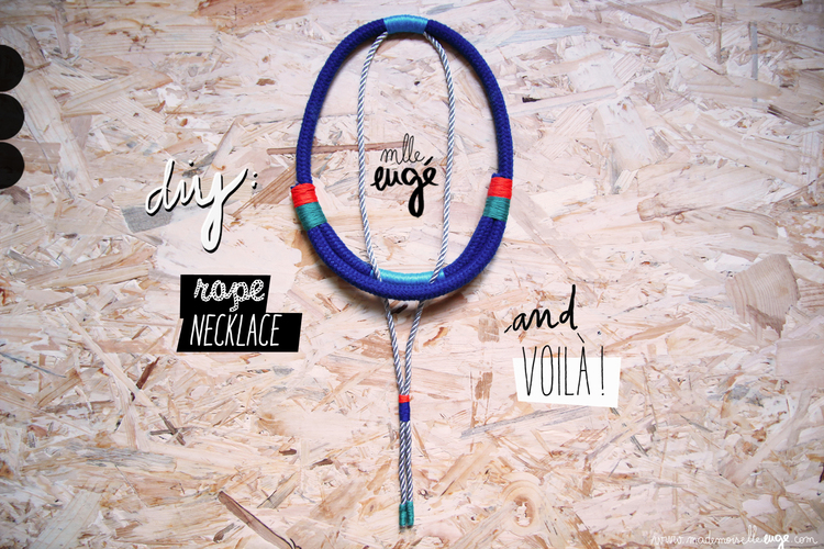 diy collier tribal
