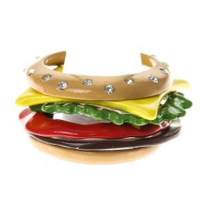 Bijoux kitsch hamburger Katy Perry