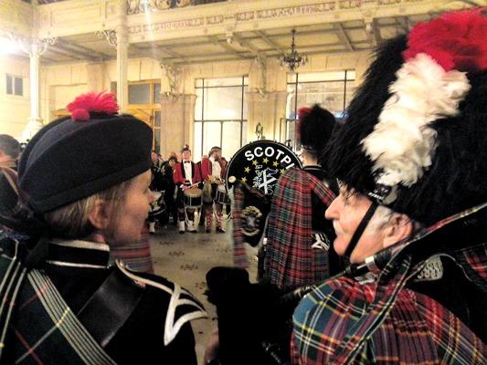 Écosse à Montmartre complice