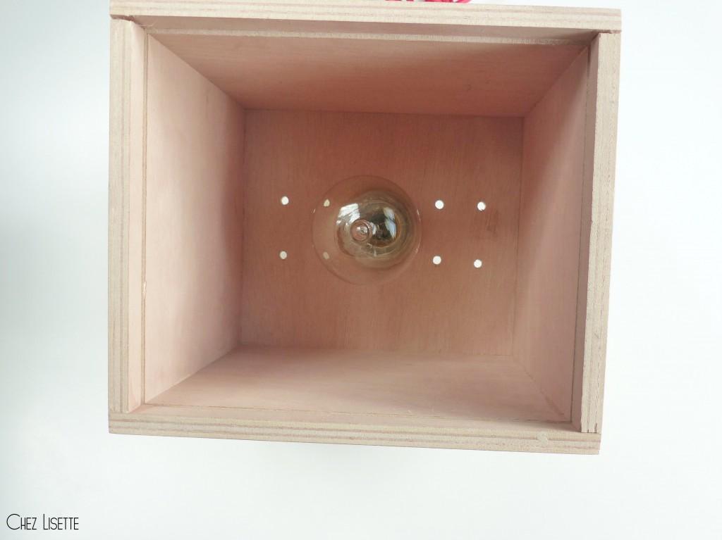 chez lisette diy lampe motif ikat ampoule