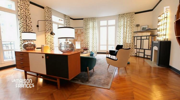 a voir ailleurs la maison france 5 chez lisette. Black Bedroom Furniture Sets. Home Design Ideas