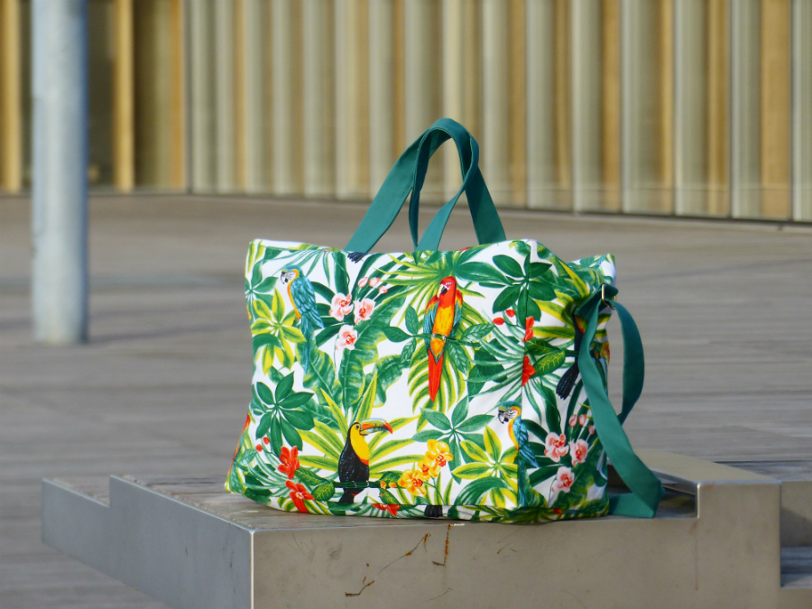 Chez Lisette sac week-end tropical 4