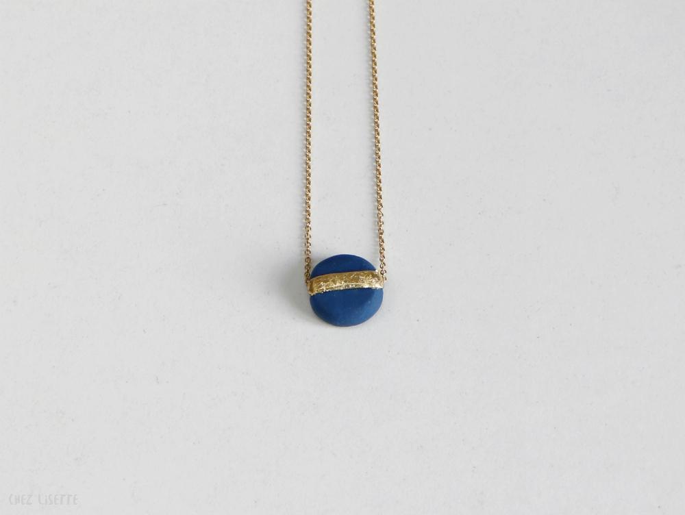chez-lisette-diy collier géométrique doré-11