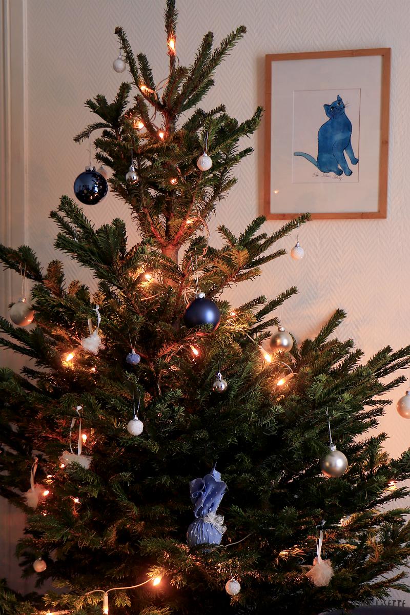 Chez Lisette DIY boules de Noël en tissu 17