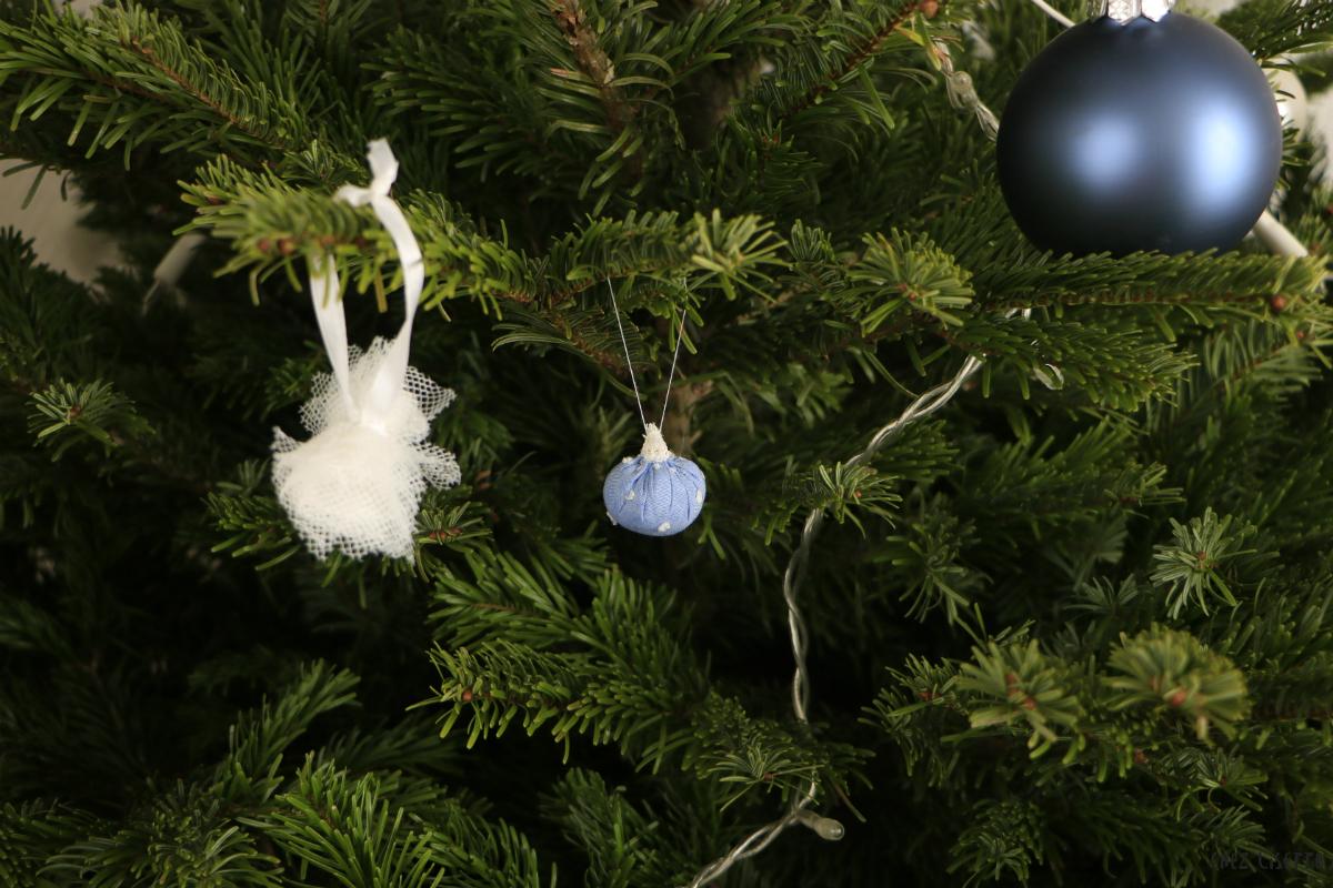 Chez Lisette DIY boules de Noël en tissu 19
