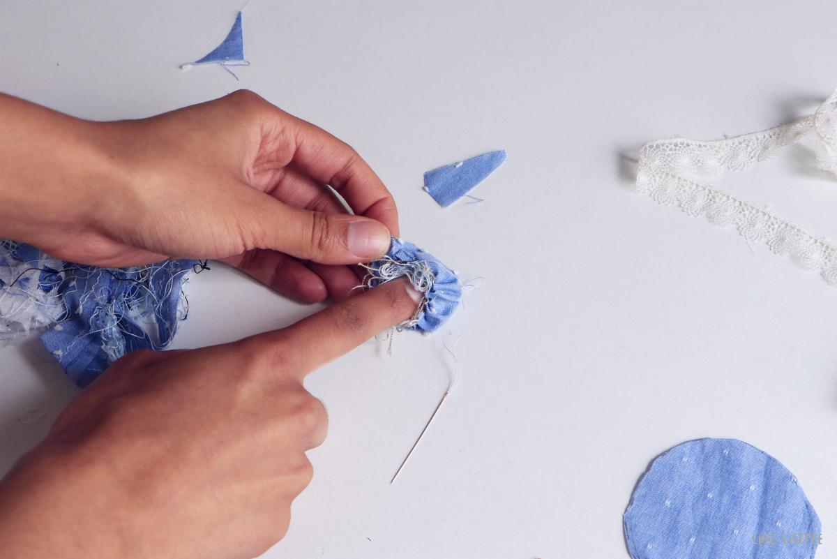Chez Lisette DIY boules de Noël en tissu 6