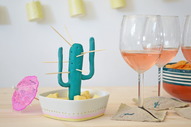 diy coloré lily little factory cactus