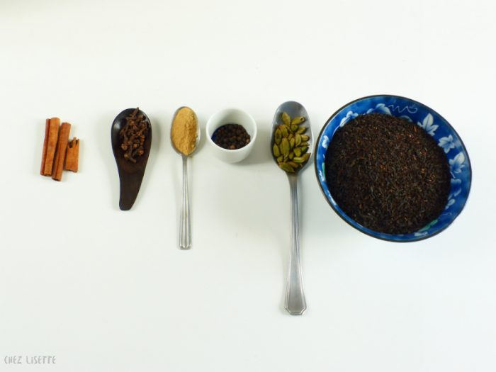 chez lisette diy thé chaï 1