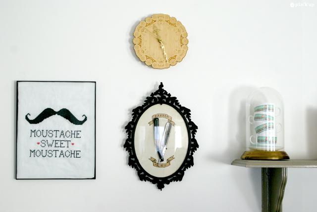 Chez Lisette - DIY Cadre - Pin'k'up Barber