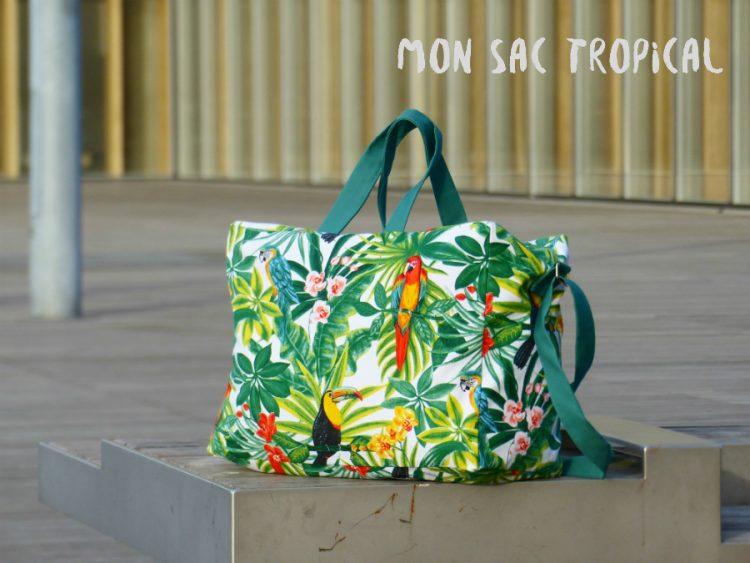 Chez Lisette sac tropical une
